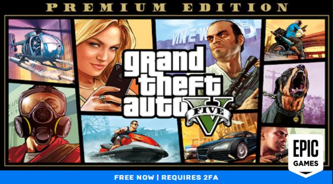 GTA 5, Kini Hadir Di Epic Games